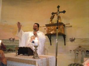 missa no Santuário de Deus Pai na Granja 1